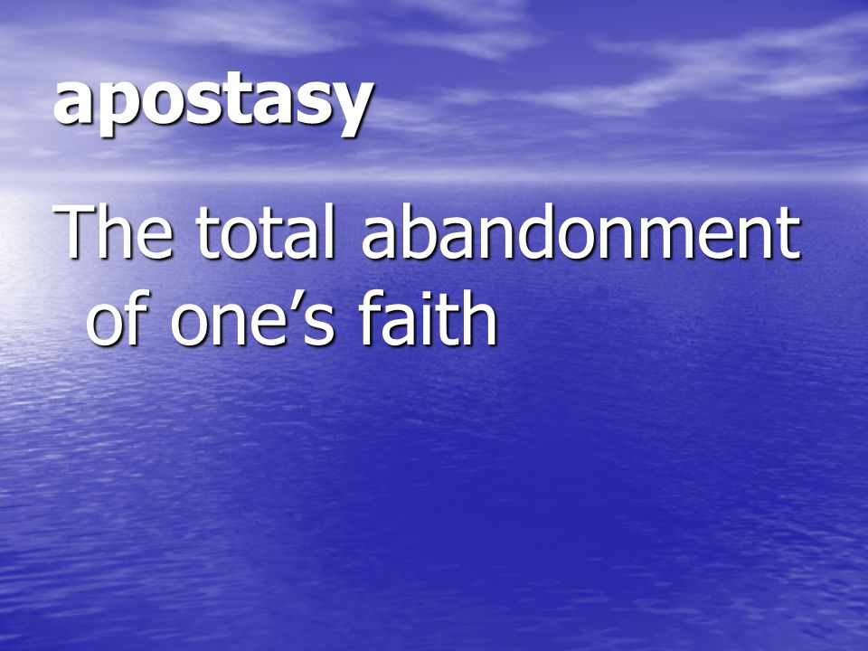heresy A denial after Baptism of a truth of the faith A denial after Baptism of a truth of the faith
