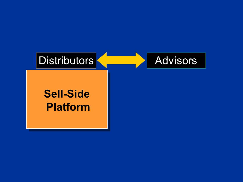 Distributors Advisors Sell-Side Platform