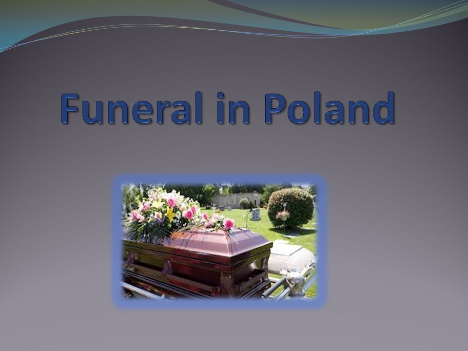 Relatives and friends are notified of the death and details of the funeral.