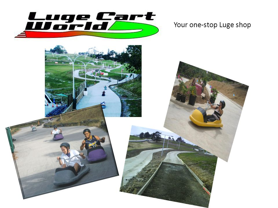 We designed and built all the Luge carts for the Auckland Luge project in Silverdale north of Auckland.