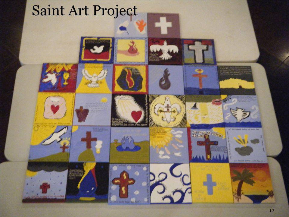 12 Saint Art Project