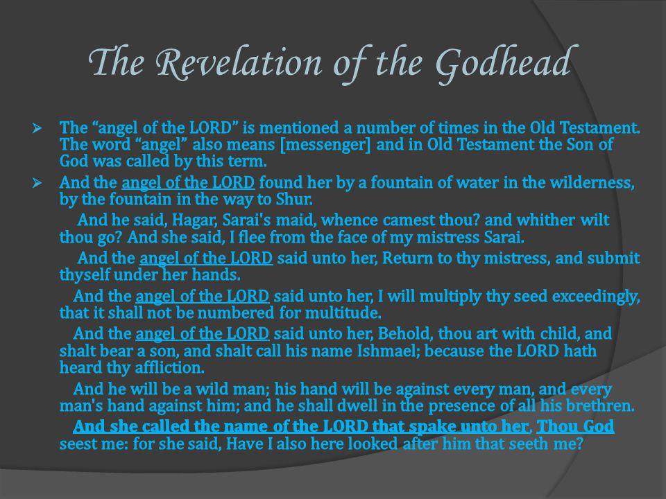 The Revelation of the Godhead