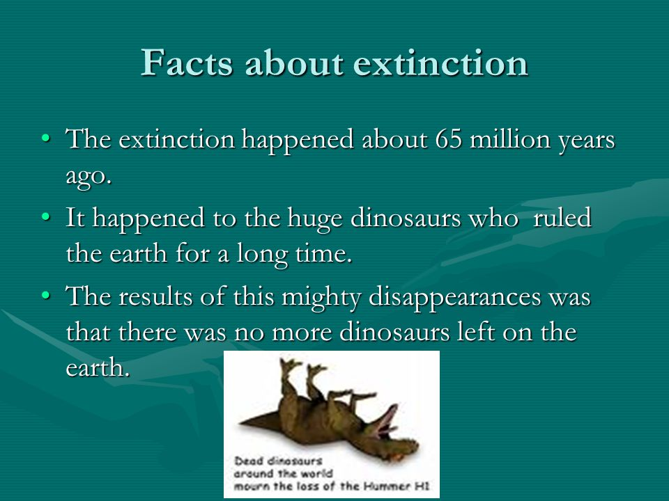 What is extinction? Definition from the oxford student dictionary.Definition from the oxford student dictionary. Extinction means that something is no