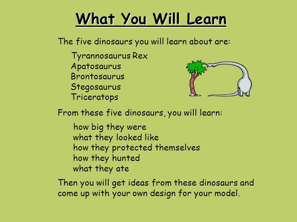 Sample of Written Work Stepatosaur My dinosaur is named Stepatosaur.