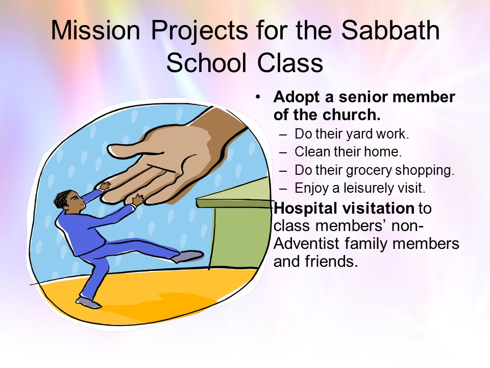 "Awakening The Sabbath Morning Dinosaur Part V ""Rediscovering Investment and Outside Projects for Sabbath School Classes"""