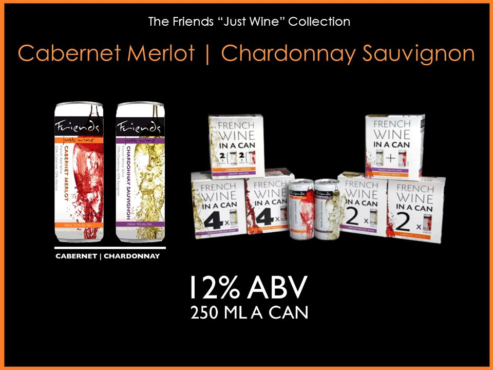 "Cabernet Merlot   Chardonnay Sauvignon The Friends ""Just Wine"" Collection"