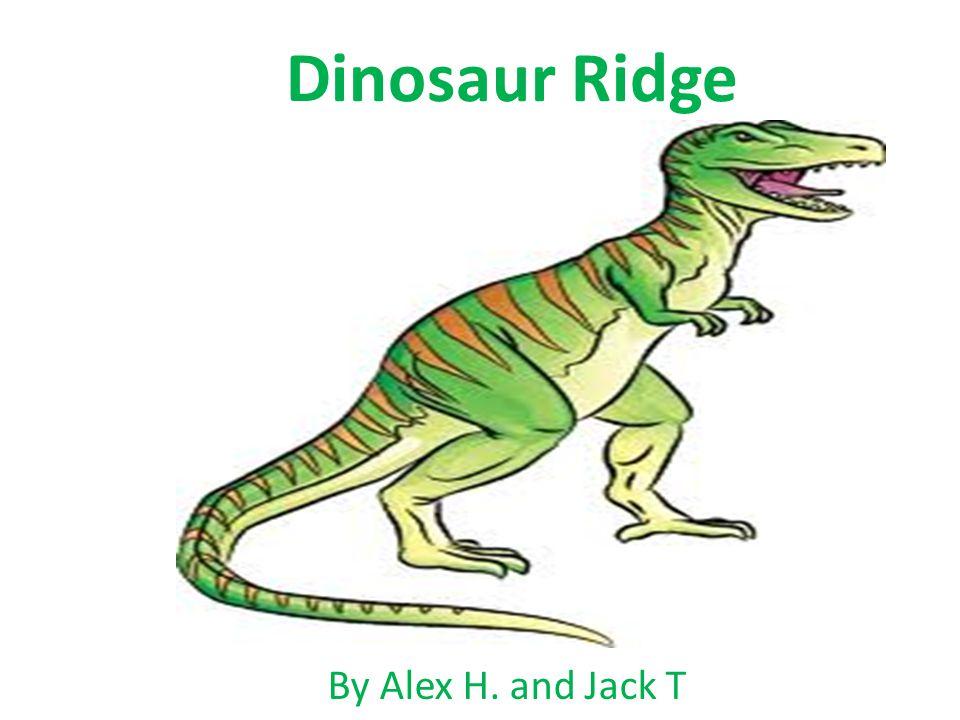 Dinosaur Ridge By Alex H. and Jack T
