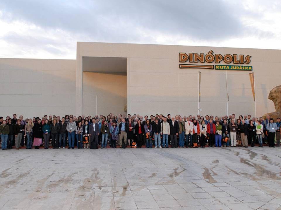 2009: 10th MESOZOIC TERRESTRIAL ECOSYSTEMS SYMPOSIUM 2003: EUROPEAN PALAEONTOLOGICAL ASSOCIATION MEETING
