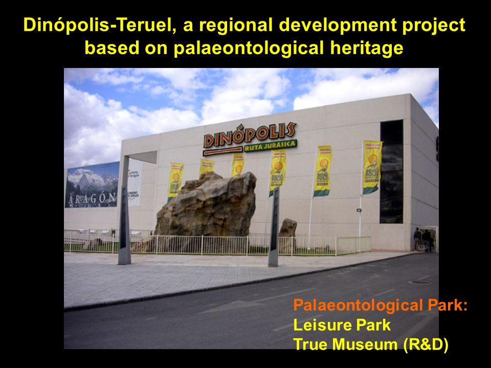 Dinópolis-Teruel, a regional development project based on palaeontological heritage Palaeontological Park: Leisure Park True Museum (R&D)