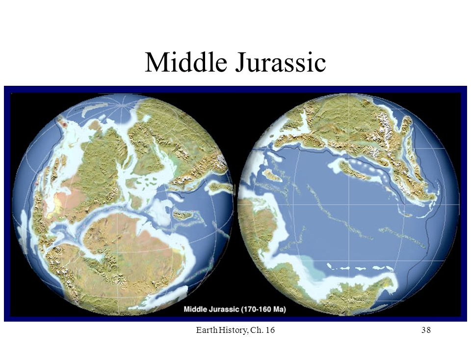 Earth History, Ch. 1638 Middle Jurassic