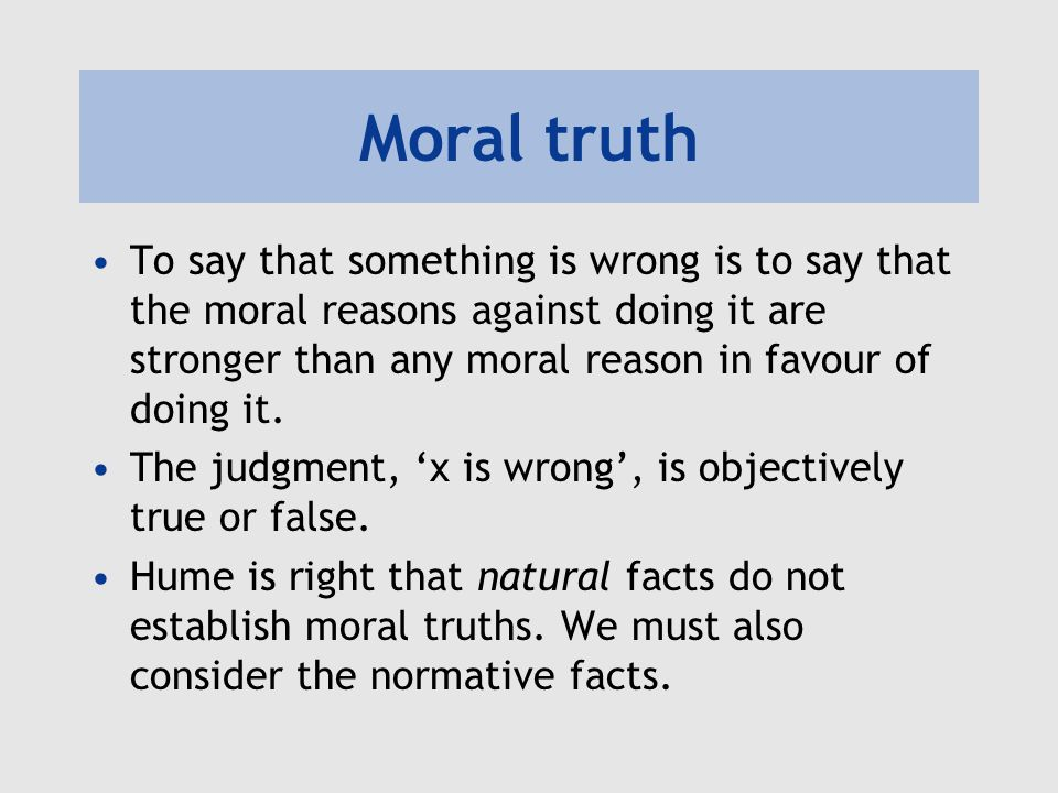 Are moral reasons objective.How can something that is relational be objective.