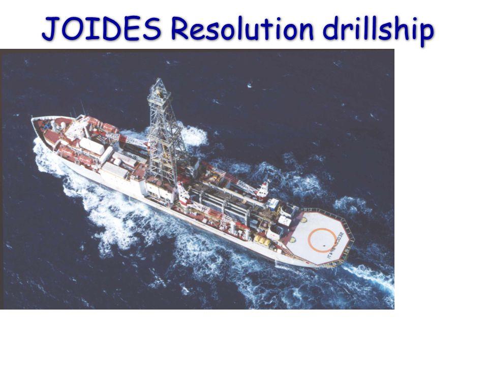 JOIDES Resolution drillship