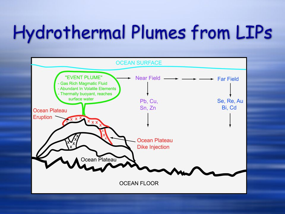 Hydrothermal Plumes from LIPs