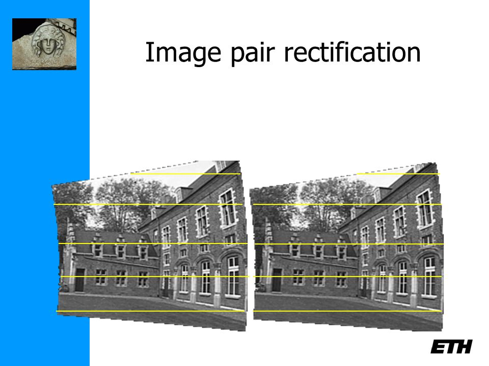 Image pair rectification
