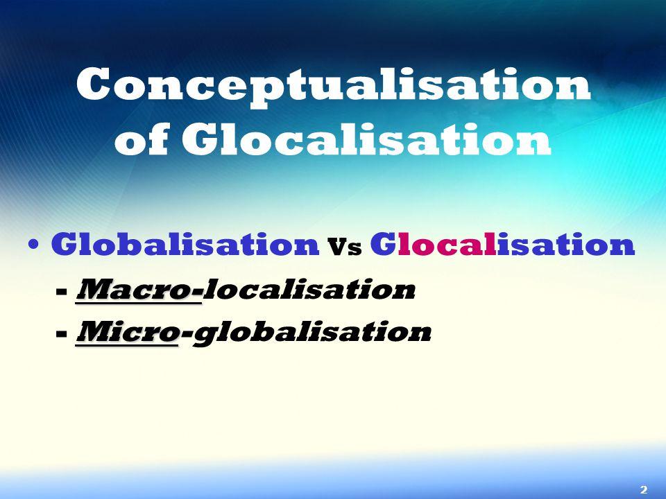 Glocalisation in Korea & Role of KLAFIR 3