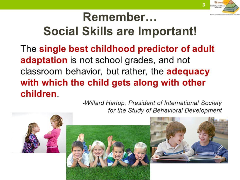 4 Review…When Do We Teach Social Skills?