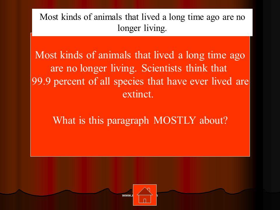 www.mrsziruolo.com Which sentence is written in the past tense.