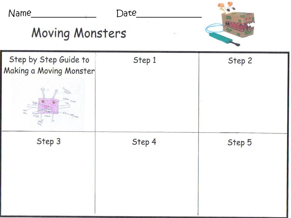 What I'm looking for… You can create a step by step guide Work together to decide on a design project