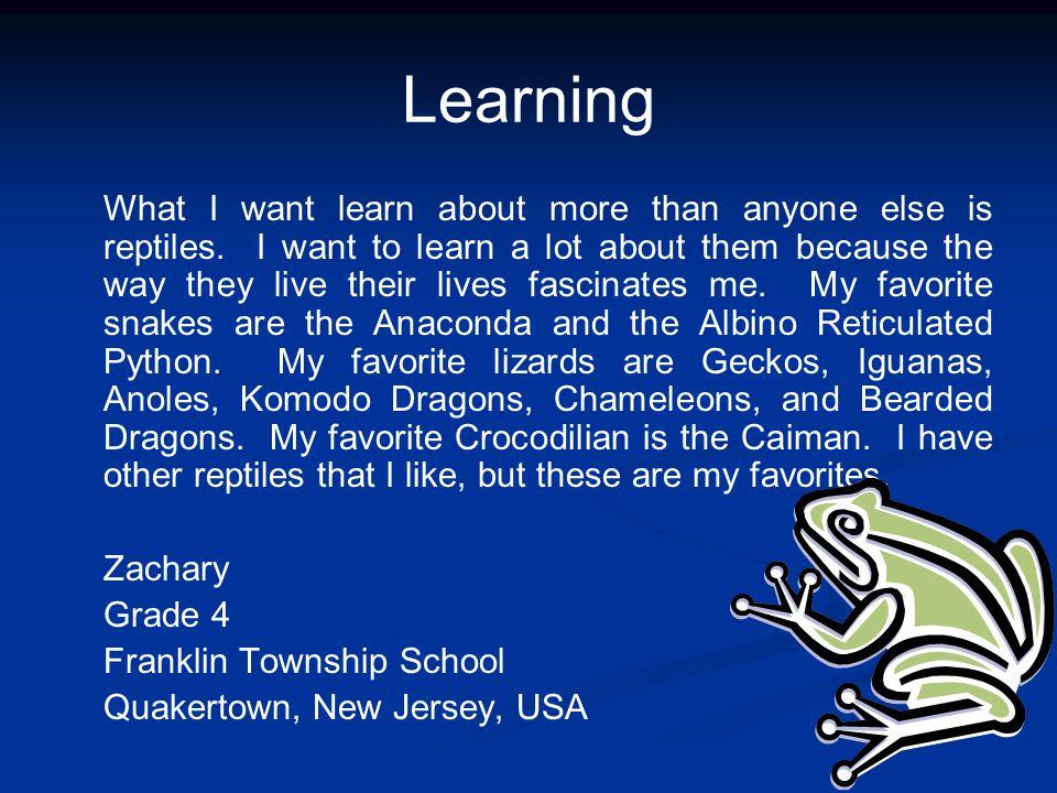 How I Learn Best By: James Saint Francis de Sales School Washington, D.C, USA