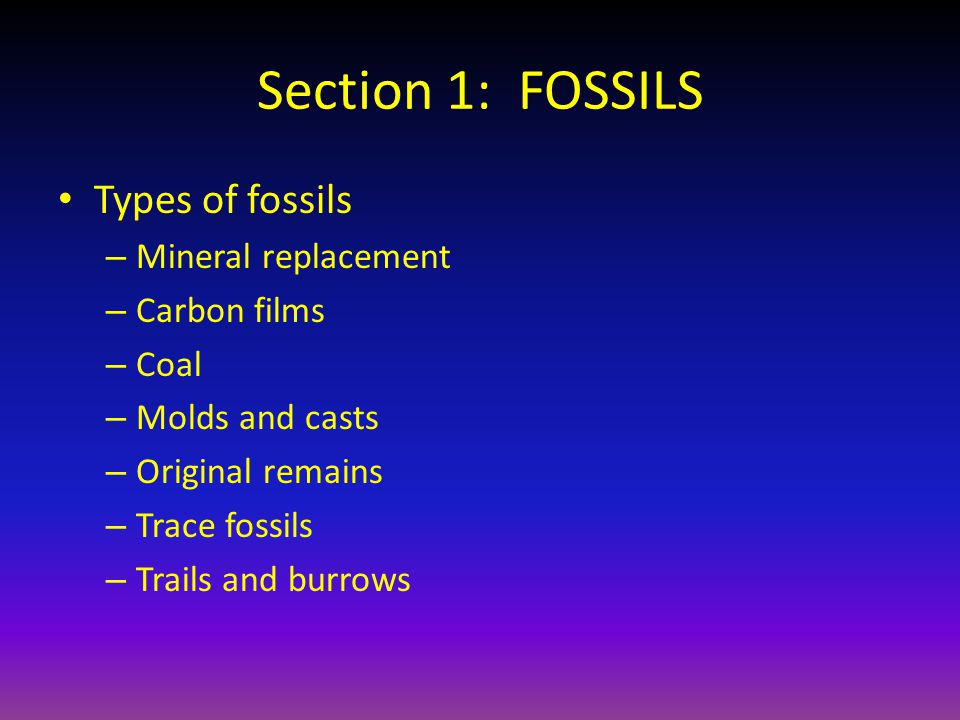 Section 3: ABSOLUTE AGES OF ROCKS Absolute age of rocks is the age IN YEARS of the rock.