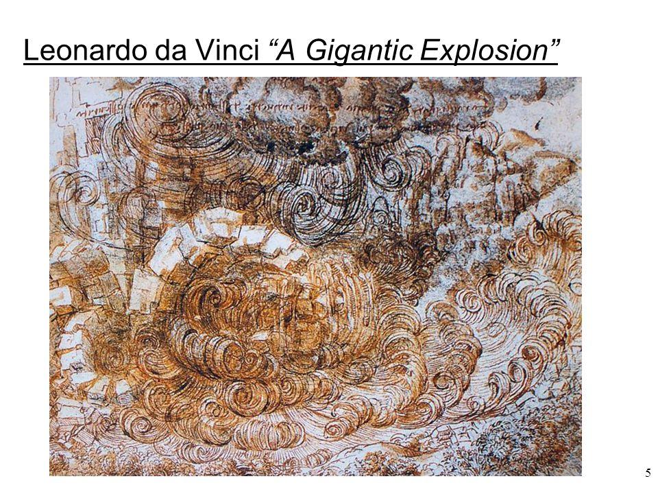 "5 Leonardo da Vinci ""A Gigantic Explosion"""