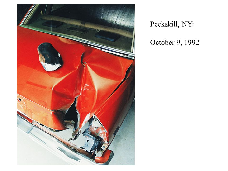 Peekskill, NY: October 9, 1992