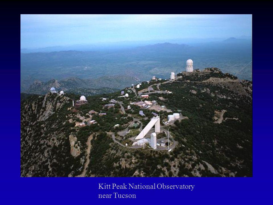 Telescopes The US operates optical national facilities in Chile, near Tucson, on Mauna Kea (Hawaii) and near Sunspot, NM.