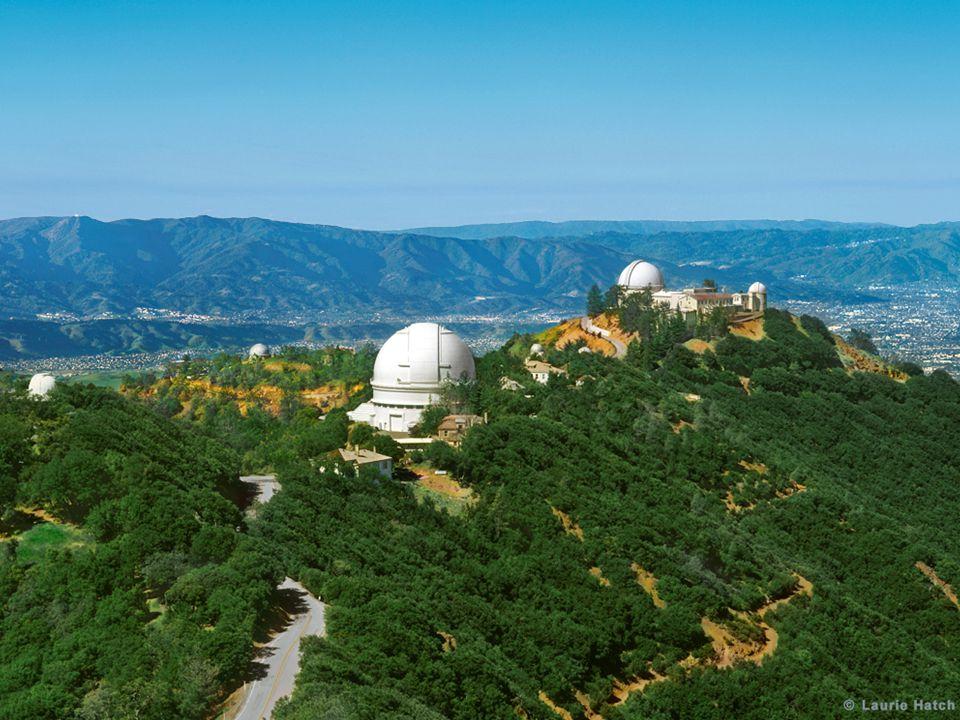 Lick Observatory on Mt Hamilton near San Jose