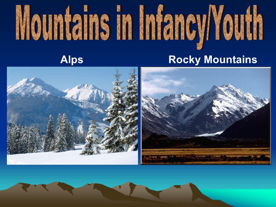AlpsRocky Mountains