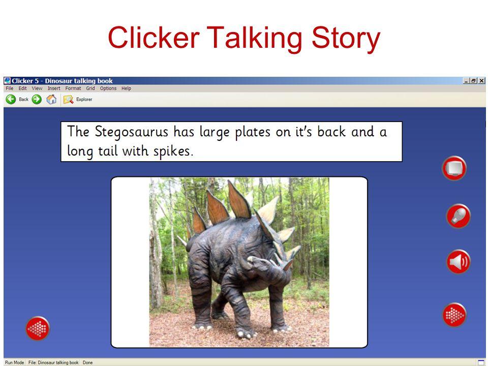Clicker Talking Story