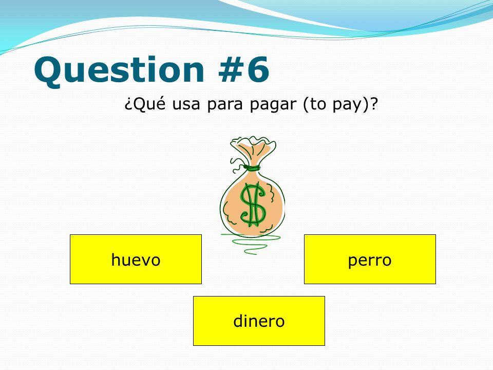 Question #5 blanco ¿Qué color es este árbol? verde azúl