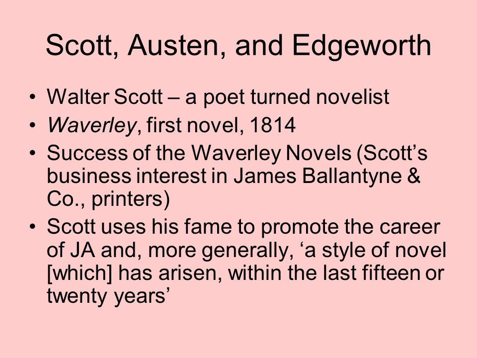Scott and the question of empire MS: 'Having sympathized in turn with the Low- landers, the Highlanders and now even with the French, Waverley finally projects his sympathy into the perspective of the English and looks at the Scots and the French as an Englishman would' (p.