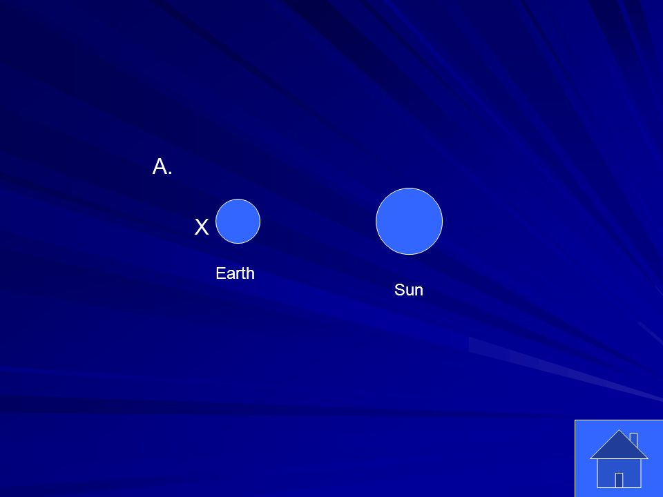 7 Earth Sun X A.
