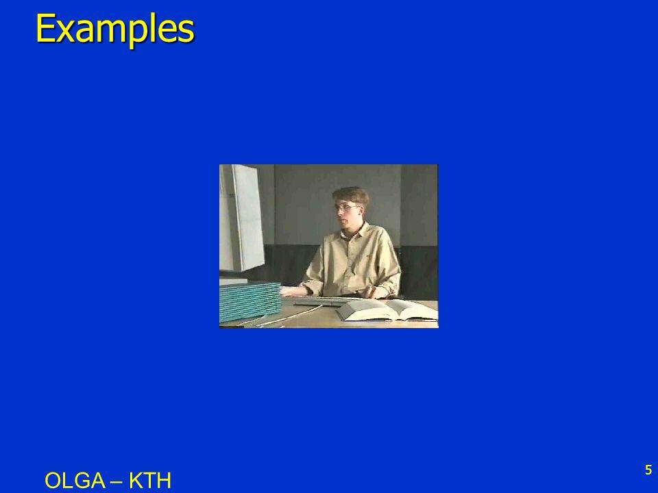 5Examples OLGA – KTH