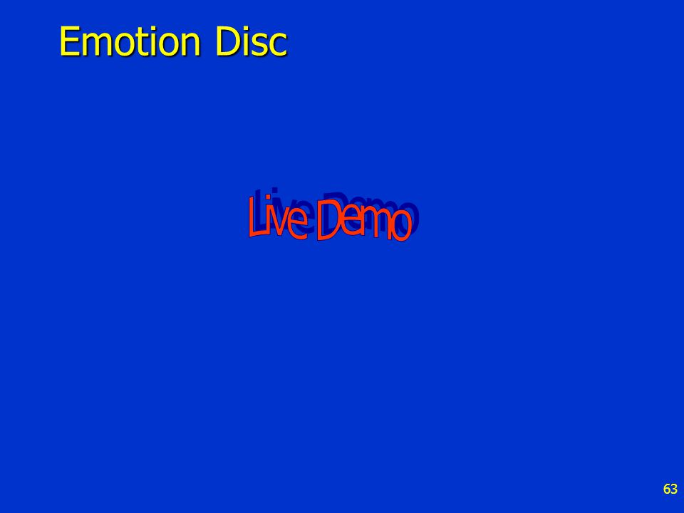 63 Emotion Disc