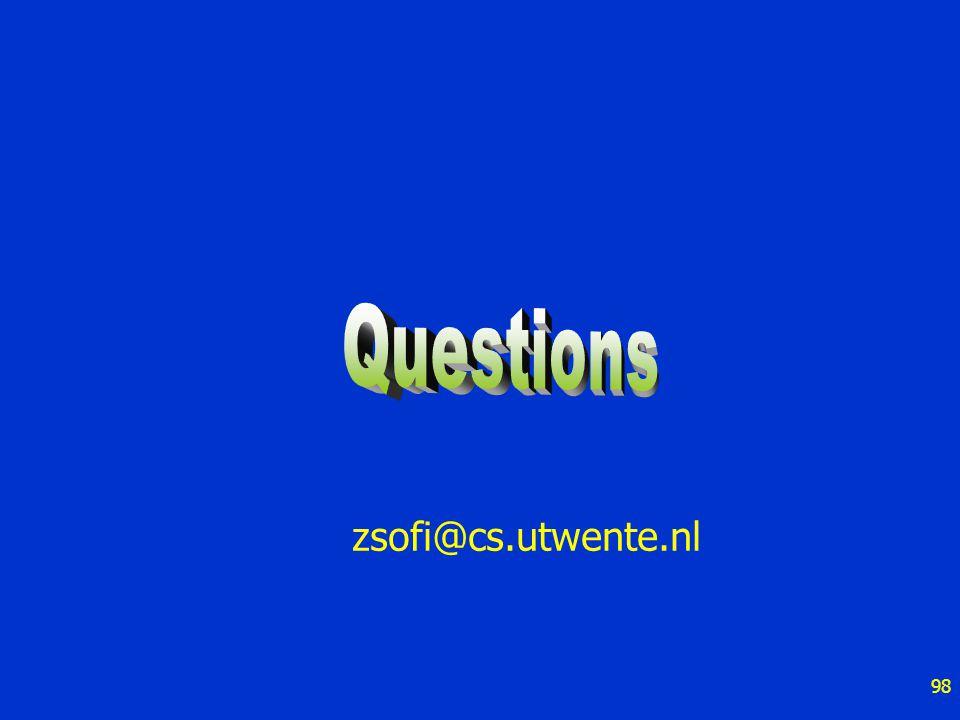 98 zsofi@cs.utwente.nl