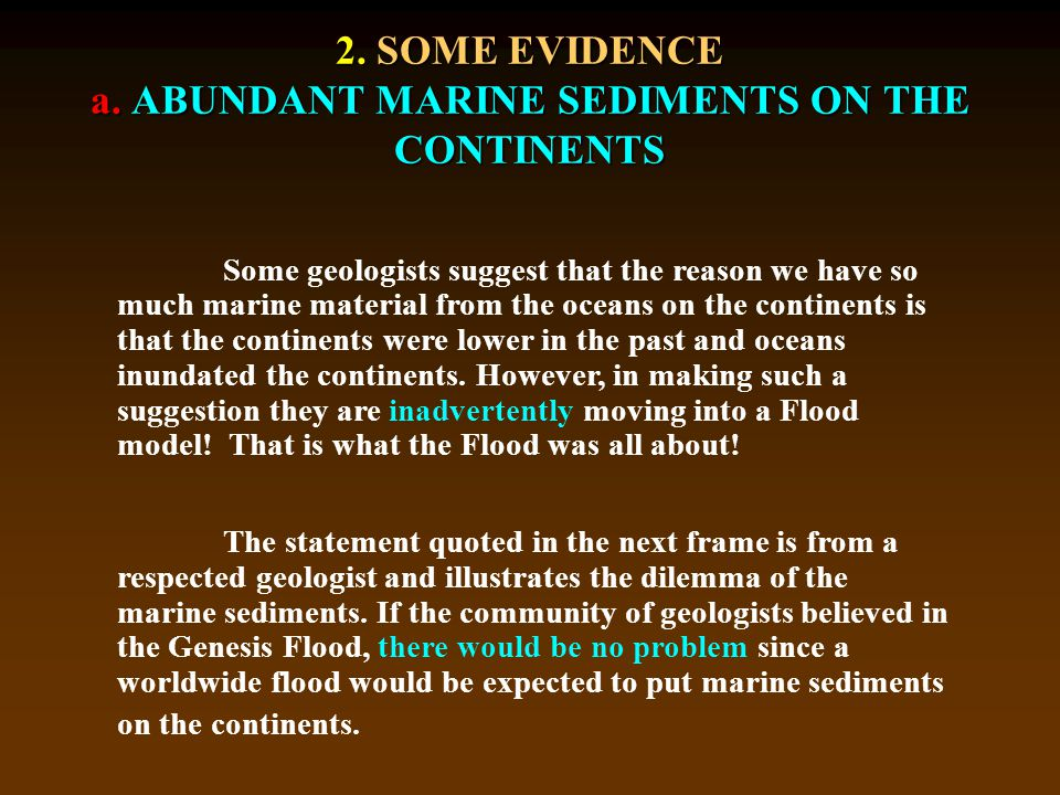 2. SOME EVIDENCE a.