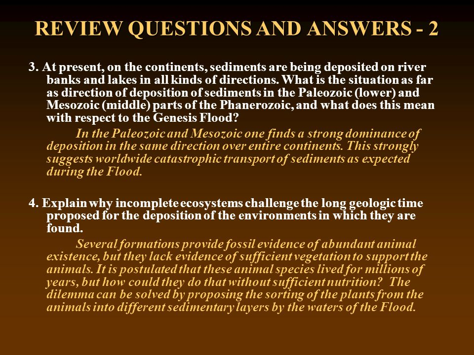 REVIEW QUESTIONS AND ANSWERS - 2 3.