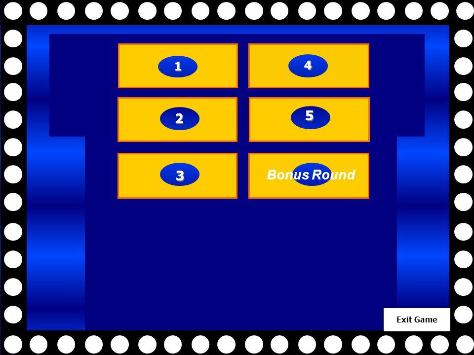 Exit Game 2222 3333 4444 5555 1111 5555 Bonus Round