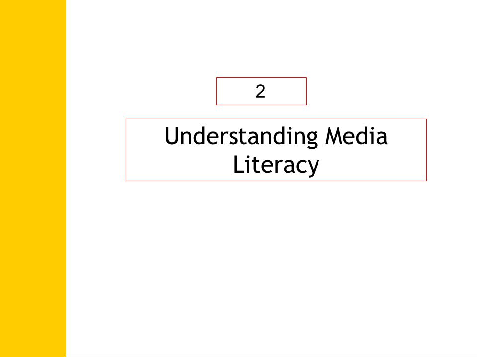 Defining Media Education Grunwald, 1982 Toulouse, 1990 Viena, Sevilla, 2002 Paris, 2007 Defining Information Literacy Alexandria Proclamation of 2005, Information Literacy is the capacity of people to recognise their information needs; locate and evaluate the quality of information; store and retrieve information; make effective and ethical use of information, and apply information to create and communicate knowledge UNESCO