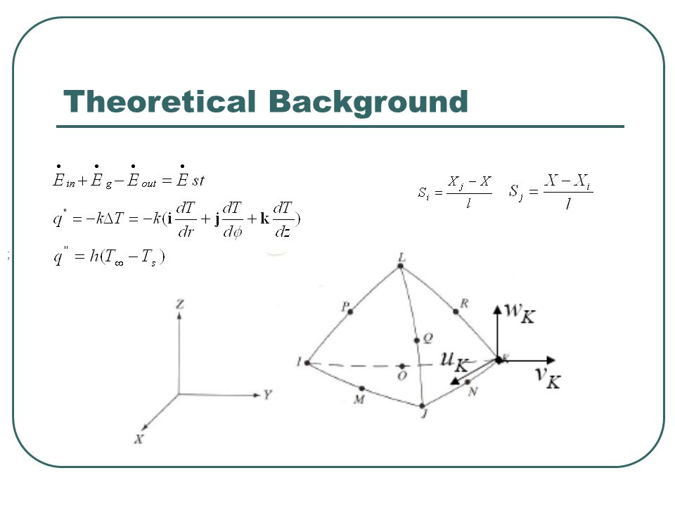 Theoretical Background (Cont.)