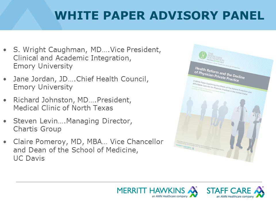 WHITE PAPER ADVISORY PANEL S.
