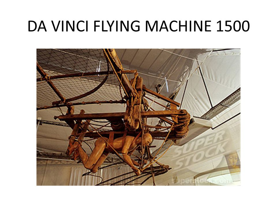 DA VINCI FLYING MACHINE 1500
