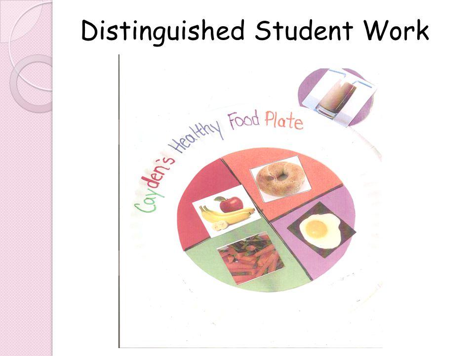 Distinguished Student Work
