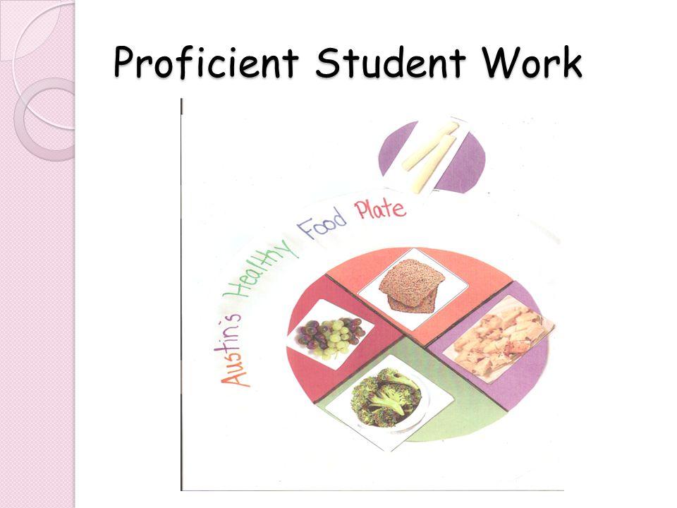 Proficient Student Work