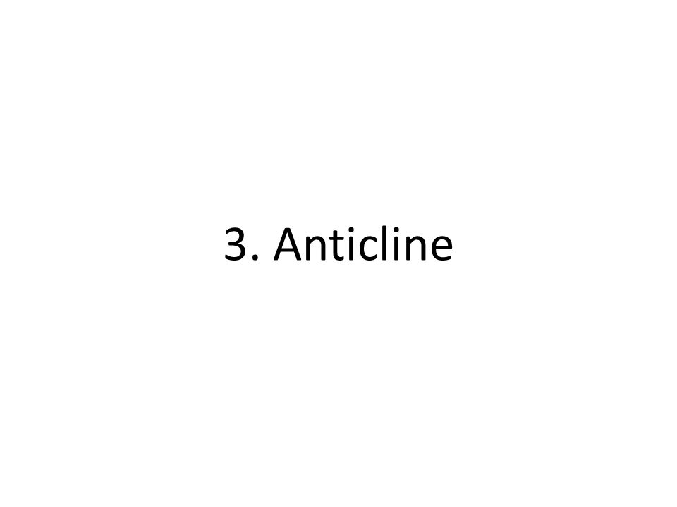 3. Anticline