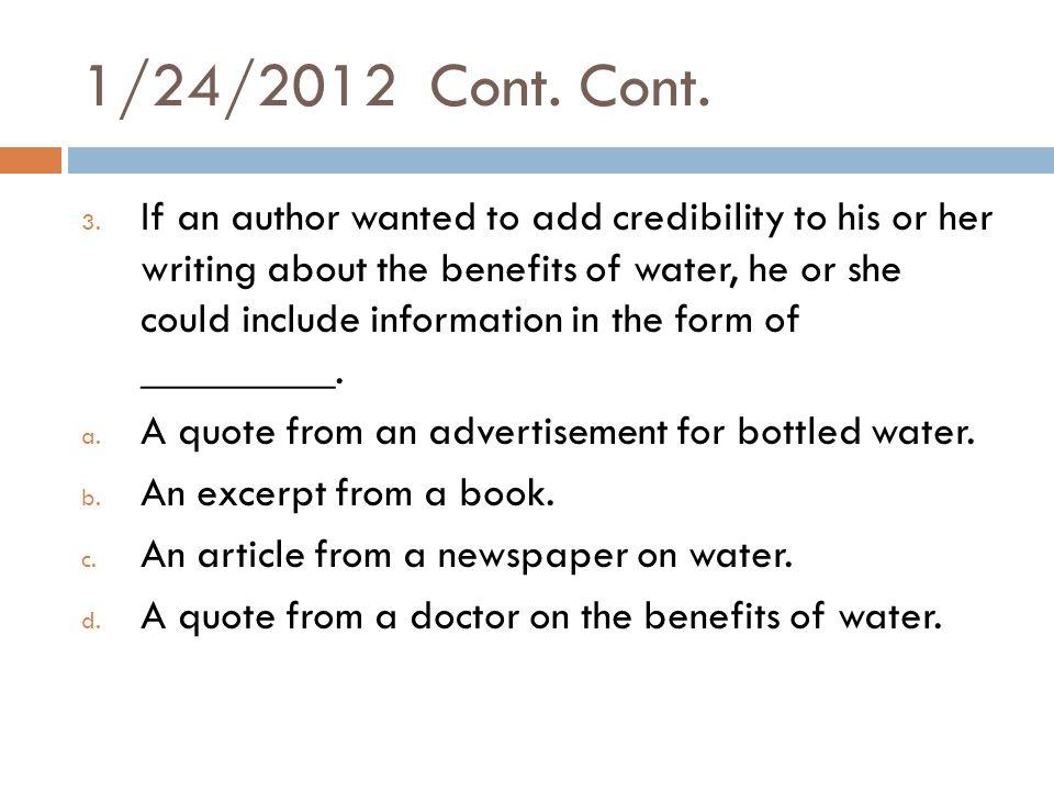 1/24/2012 Cont. Cont. 3.
