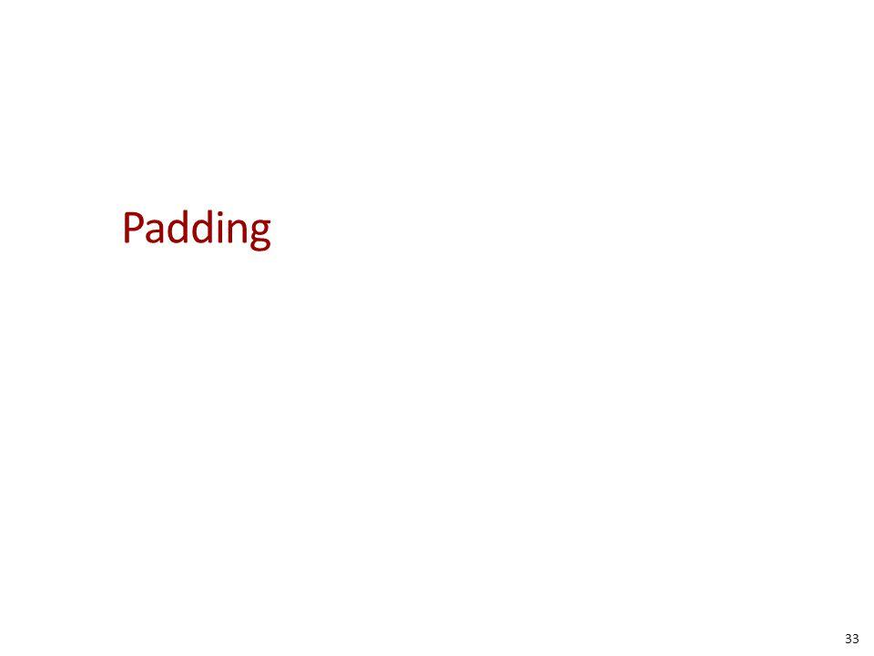 Padding 33