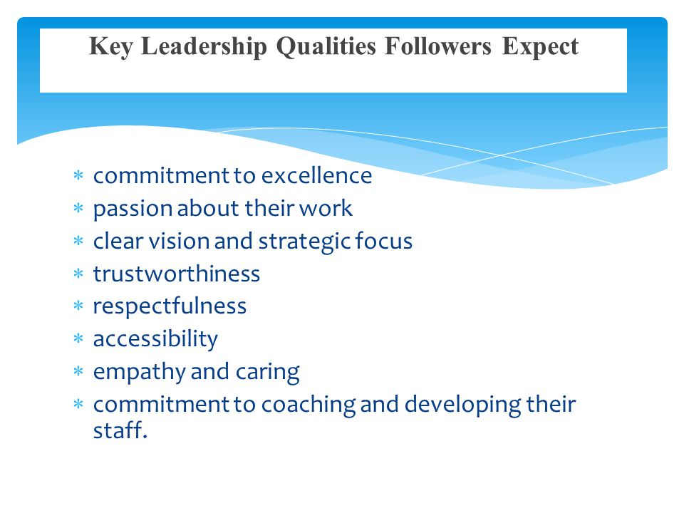 Transformational leadership qualities promote a healthy environment for employees and staff, which will produce improved staff satisfaction, retention, and patient satisfaction.