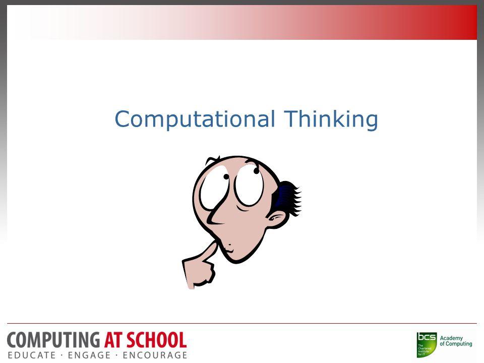 Computational Thinking -Video